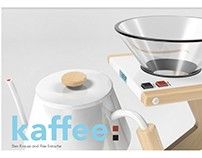 kaffee: Pour-over coffee concept