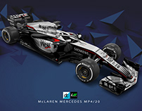 Re:Imagined - McLaren Mercedes MP4/20 Livery concept
