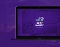 Surf House Barcelona Website