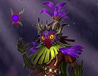 Zelda Majora's Mask redesign