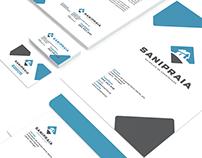Linha Gráfica Saniparaia Graphic Identity