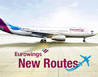 New Routes - Eurowings - Print
