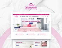 [Website Design] May Song Hong Online Shop Design