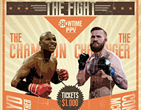 THE FIGHT - Mayweather vs McGregor
