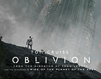 O B L I V I O N  Movie poster design