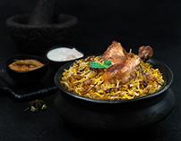 Dabbawala Biryani | Food Photography