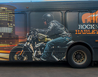"Harley Davidson ""Buy the !#%!@?! Harley!"""