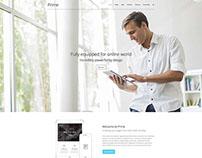 Prime WordPress Theme by Artstudioworks