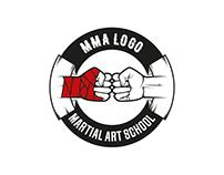 MMA logo template