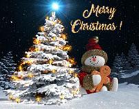 Christmas Snowman Opener