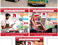 Auto Poster Advertising app Project