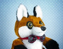 Mr. Fox, soft art toy
