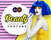 Beauty Youtube Design Pack | After Effects Template