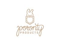 Poronty Products - Logo design