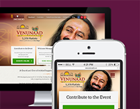 Web & Social Media User Experience Design for VenuNaad