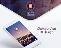 Glamour UI Design