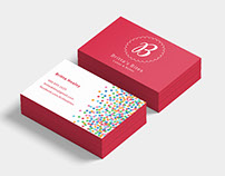Britta's Bites Business Cards