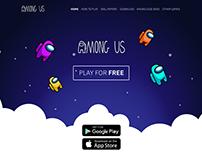 AMONG US | WEB SITE