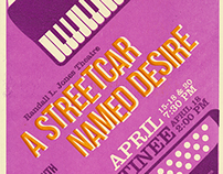 Letterpress Show Poster