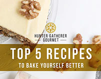 Recipe eBook for Hunter Gatherer Gourmet