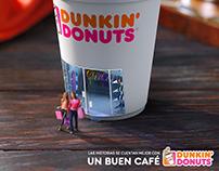 DUNKIN' DONUTS un buen café