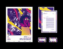 BRANDING / UX • Fête de la Musique 2017