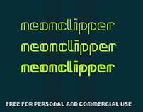Neonclipper Free Font