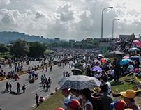 """Gran Plantón"" en Caracas. 24 de abril"