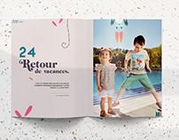 Babymag — Kids Magazine Rebranding