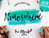 ATMOSPHERE - FREE BRUSH FONT