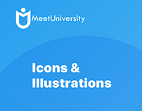 MeetUniversity: Icons & Illustrations