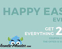 Happy Easter! Get everything 20% OFF