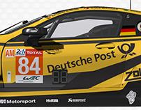 BMW M8 GTE Deutsche Post for rFactor 2