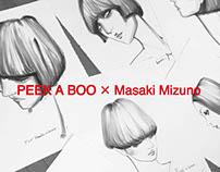 Live Drawing in PEEK A BOO 2016.03.21