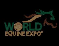 World Equine Expo Logo Design