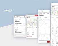 Mubat — Web design