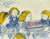 illustration for magazine 飛ぶ教室25