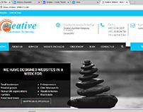 Creative Infotech Website