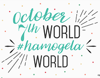 World 'hamogela'Day