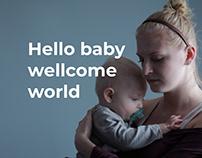 HelloBaby website design
