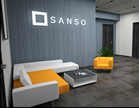"Office Design of ""Sanso"" group"