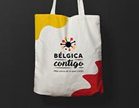 Bélgica Contigo Cooperation Campaign