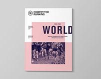 Competitor Running Magazine Redesign