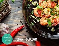 Instagram branded templates for Smart Food Sochi