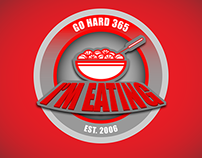 I'M EATING design created for GO HARD 365