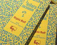 """""""A leitora incomum"""" book design"""