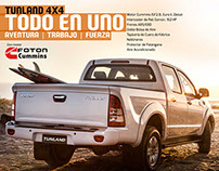Campaña Todo en Uno Tunland Foton
