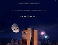 """Hyatt """"Saludo Navidad"""""""