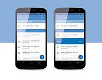 NFC Tracker
