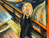 The Scream in London #MunchContest